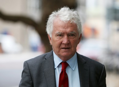 Former Anglo chair Sean Fitzpatrick