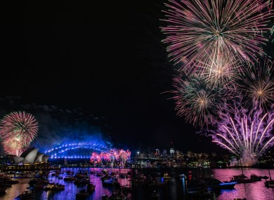 New Year's Eve celebrations in Sydney, Australia on 1 January, 2019.