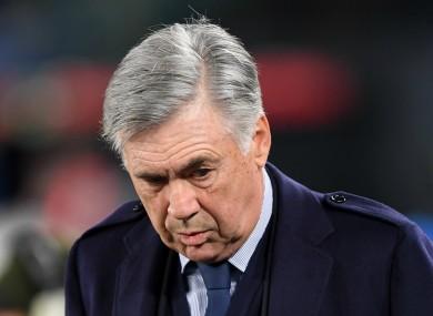 Former Napoli head coach Carlo Ancelotti.