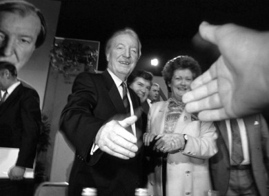 Charlie Haughey was well-liked and respected by civil servants as Minister for Finance.