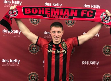 Dan Casey is back with Bohs.