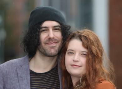 Emma de Souza and her husband Jake.