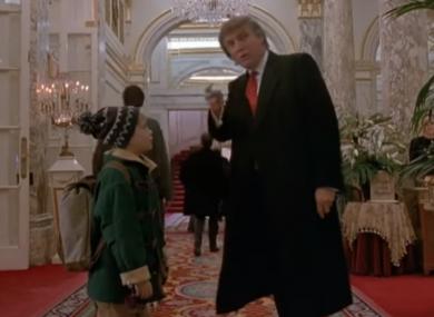 Donald Trump makes a brief cameo in the 1992 sequel to Home Alone