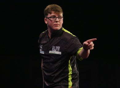 Barry: makes his Ally Pally debut on Monday evening.