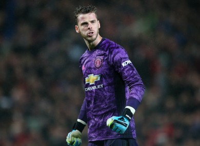 Manchester United goalkeeper David de Gea has consistently impressed over the course of the decade,