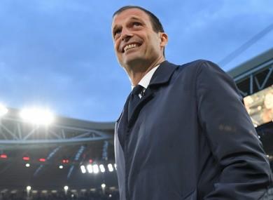 Former Juventus head coach Massimiliano Allegri
