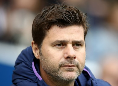 Former Tottenham boss Mauricio Pochettino