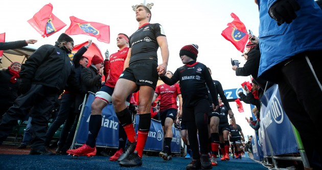 As it happened: Saracens v Munster, Champions Cup