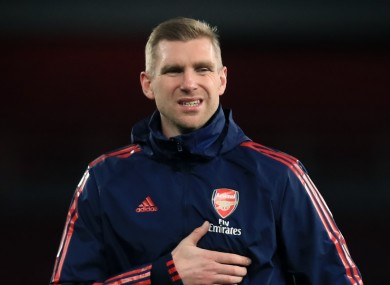 Per Mertesacker is assisting Arsenal's interim head coach Freddie Ljungberg.