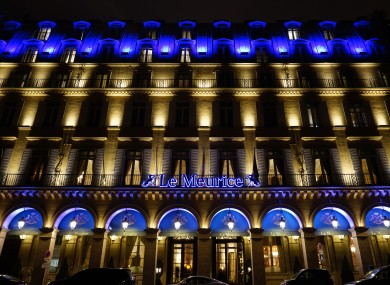 The hotel where Charlie Haughey stayed.