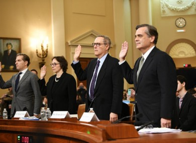 Four legal experts testified before the US House Judiciary committee.