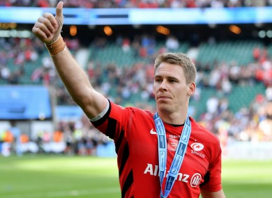 Liam Williams will leave Saracens at the end of the season.