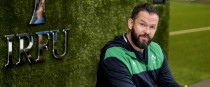 Andy Farrell, at the IRFU's training centre.