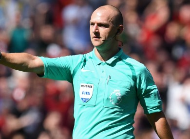 Madley officiated his first Premier League game in April 2013.