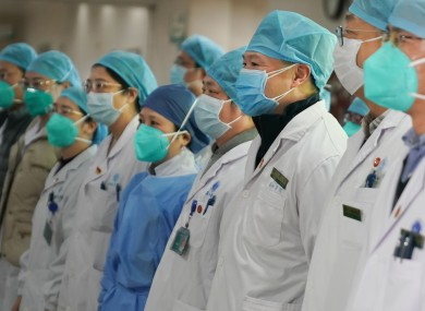 Staff of Union Hospital affiliated to Tongji Medical College of Huazhong University of Science and Technology.