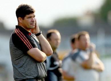 Former -Kerry football boss Eamonn Fitzmaurice.