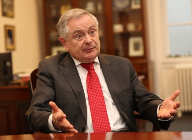 Brendan Howlin made the call in an episode of TheJournal.ie's The Candidate podcast.