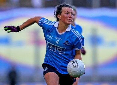 Dublin star Leah Caffrey returns to the fold after travelling.