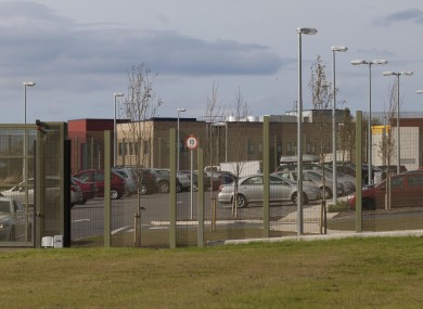 The outside of Oberstown Detention Centre in Dublin.