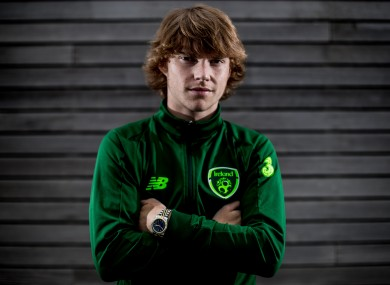 Luca Connell was called up to the Republic of Ireland senior squad in May of last year.