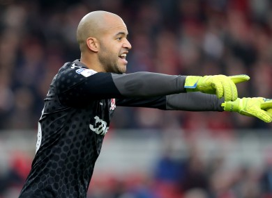 Randolph: £4m move back to the Premier League.