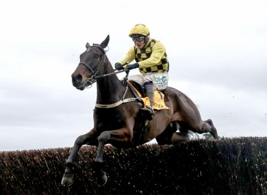Al Boum Photo: can he make it back-to-back Gold Cups? (file photo)