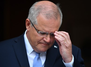 Scott Morrison would not commit to reducing Australia's coal exports