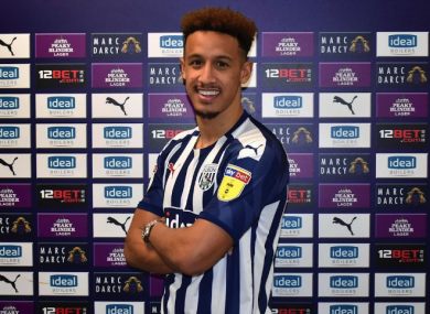 West Brom unveiled Robinson this morning.