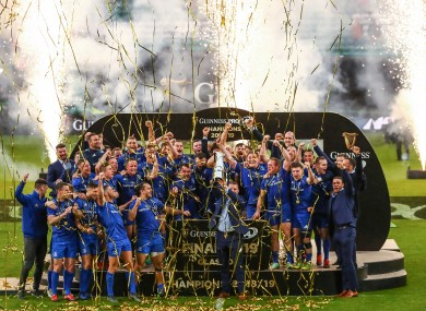 Defending Pro14 champions Leinster are on course for a second double in three seasons.