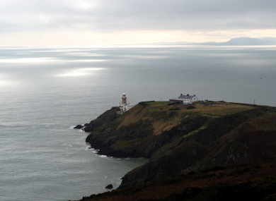 Howth Head in north Dublin, a popular spot that many will drag themselves to this weekend in the hope of walking off weeks of chocolates and booze.