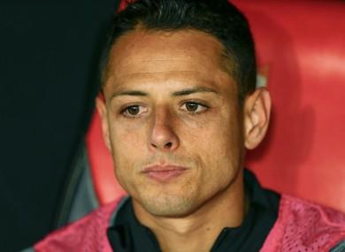 Javier Hernandez (file pic).