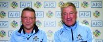 Dublin joint managers John Treacy and Willie Braine (both Cuala).
