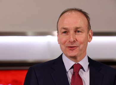 Micheál Martin is leading Fianna Fáil into his third general election as leader.