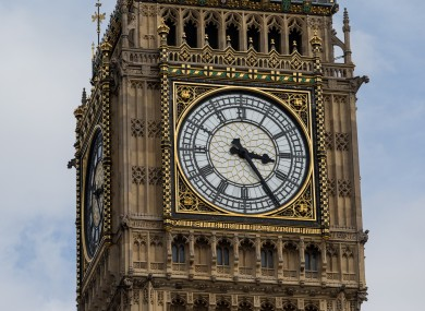 File photo of Big Ben in London.