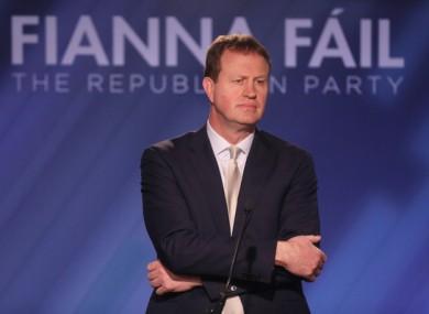 Fianna Fáil justice spokesman Jim O'Callaghan.