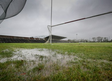 A view of the conditions in Mallow GAA.