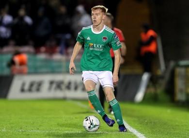 Cork City's Alec Byrne.