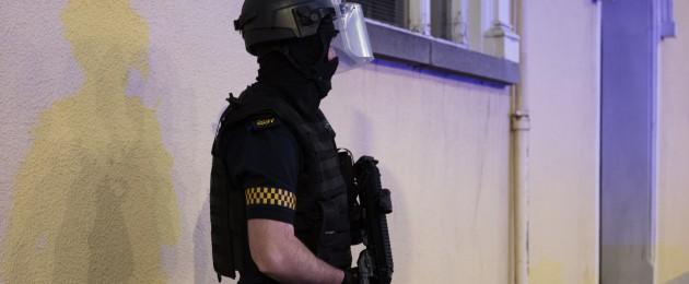 File photo of armed gardaí.