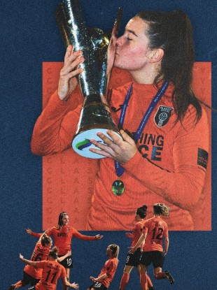 Clare Shine enjoyed a huge end to the 2019 season at Glasgow City.