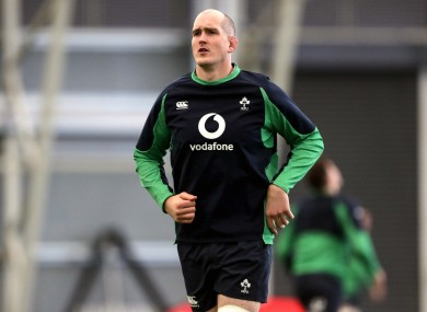 Devin Toner will start at Twickenham on Sunday.