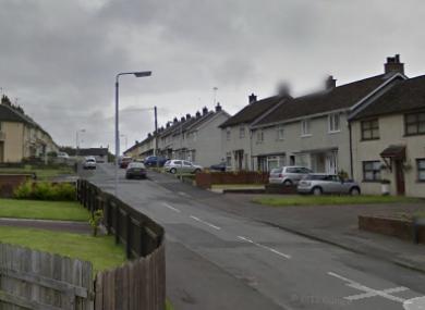 Larch Grove area of Dunmurry in Belfast.