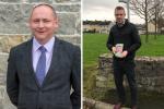 Meath Cathaoirleach Wayne Harding and Offaly Cathaoirleach Peter Ormond