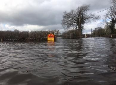 Clonlara has been badly hit by floods.
