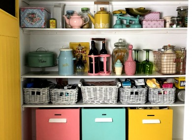 The pantry area of Joanne Condon's kitchen