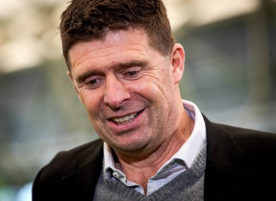 Niall Quinn pictured at today's League of Ireland season launch.
