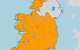 Storm Jorge: Status Orange wind warning extended to the entire country