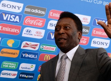 Pele, pictured in 2013.
