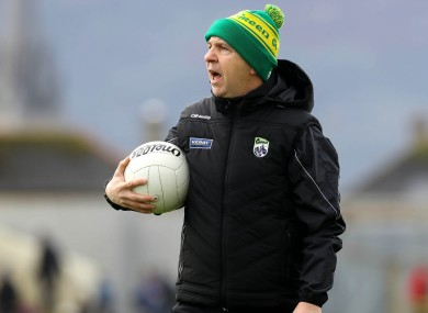 Kerry football manager Peter Keane.