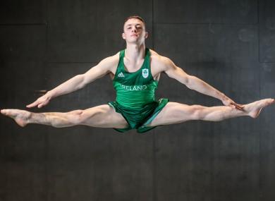 Olympic hope Rhys McClenaghan.
