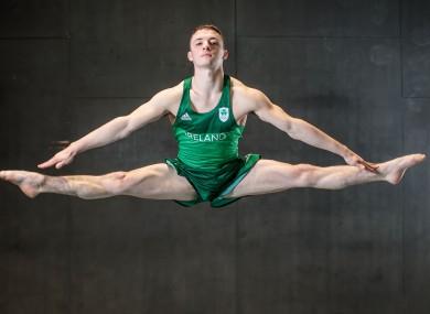 Gold medal hope Rhys McClenaghan.